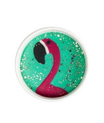 Glitter Dough Fancy Flamingo