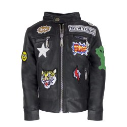 Vegan Patch Jacket 4T