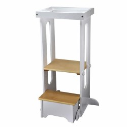 Explore N Store Learning Tower White with Natural