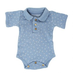 Polo Bodysuit Pool Dots 6-9m