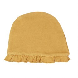 Ruffle Cap Honey 0-3m