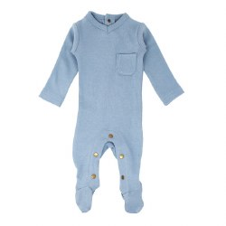 V-Neck Footie Pool 0-3m