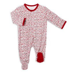 Footie Berry Holly Day 0-3m