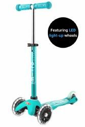 Mini Deluxe LED Scooter Aqua