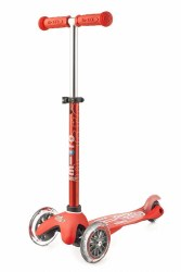 Mini Deluxe Scooter Red