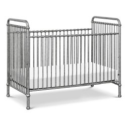 Abigail 3-in-1 Covertible Crib Vintage Silver