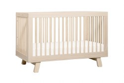 Hudson 3-in-1 Convertible Crib Natural