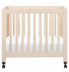 Origami Mini Crib Washed Natural