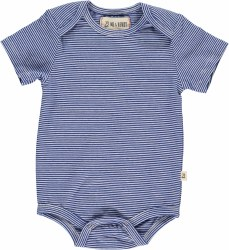 Blue Stripe Onsie 0-3m