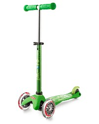 Mini Deluxe Scooter Green
