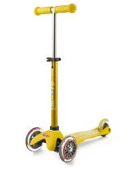 Mini Deluxe Scooter Yellow
