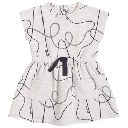 Coaster Dress Grey 6m