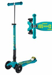 Maxi Deluxe Foldable Scooter Petrol Green