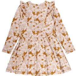 Floral Dress Wood 6Y