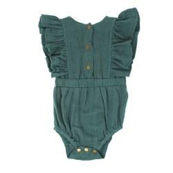 Muslin Ruffle Bodysuit Oasis 9-12m