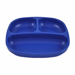 Divided Plates Navy Blue