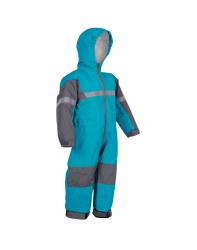 One-Piece Rainsuit Blue 12m