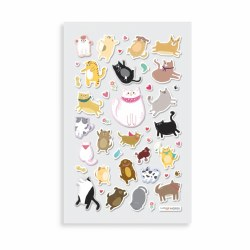 Itsy Bitsy Stickers Puffy Pets