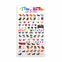 Itsy Bitsy Stickers Pooches