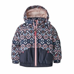 Snow Pile Jacket Tundra Pink 4T