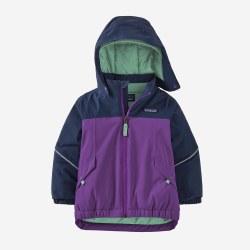 Baby Snow Pile Jacket Purple 2T
