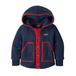 Retro Pile Jacket Navy 4T