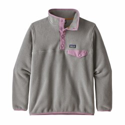 Girls' Synch Snap-T Grey Medium