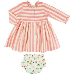 Baby Autumn Dress 3-6m