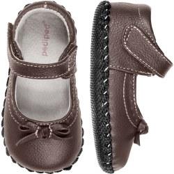 Isabella Chocolate Brown 6-12m