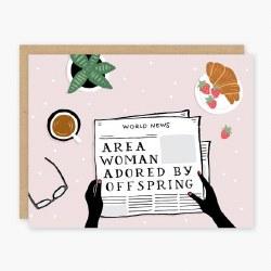Area Mom Card