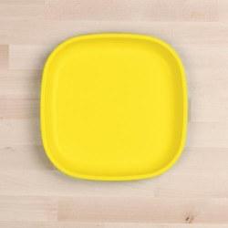 """Flat Plates 9"""" Yellow"""