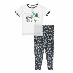 S/S PJ Stone Animals 4T