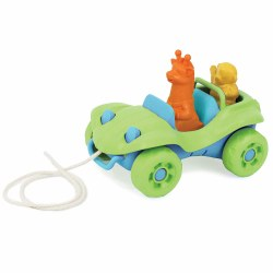 Dune Buggy Pull Toy Green