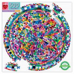Triangle Pattern 500 Piece Puzzle