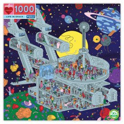 Life In Space 1000pc Puzzle