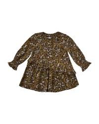 Dark Floral Hazel Dress 6-12m