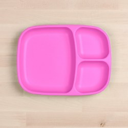 Divided Tray Bright Pink