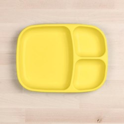 Divided Tray Yellow