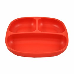 Divided Plates Red