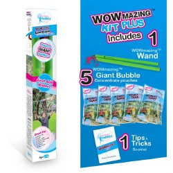 WOWmaing Giant Bubble Kit PLUS - CURBSIDE ONLY