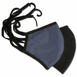 Kids' Tie On Face Mask Navy