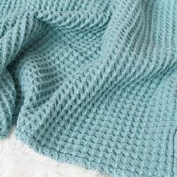 Honeycomb Blanket Ocean