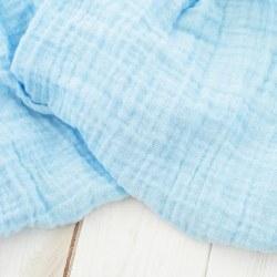 Muslin Blanket Sky Blue