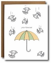 Raining Diapers Card