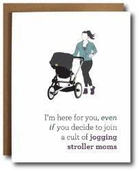 Stroller Moms Card