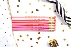Pencil Set She Designed a Life She Loved