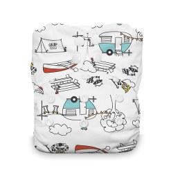Natural AIO Snap Happy Camper