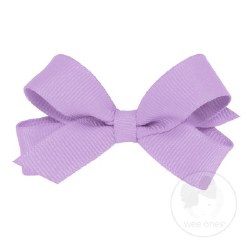 Tiny Grosgrain Bow Light Orchid