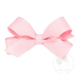 Tiny Grosgrain Bow Light Pink