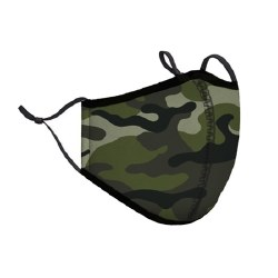 Adult Face Mask Green Camo